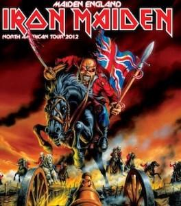 Iron Maiden 2012 Tour - Maiden England
