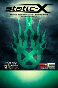 static-x summer Noise Revolution tour 2012