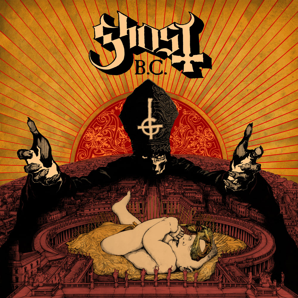 Ghost infestissumam album cover
